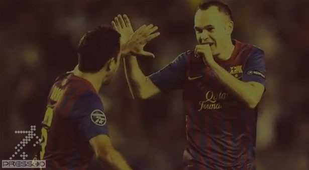 Xavi and Iniesta 2011-2012 Mid-Season Review by ElAlonso - YouTube[15-57-25]